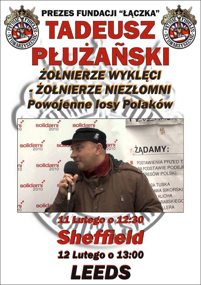 """Wykład -""""Żołnierze Wyklęci – Żołnierze Niezłomni. Powojenne Losy Polaków."""""""