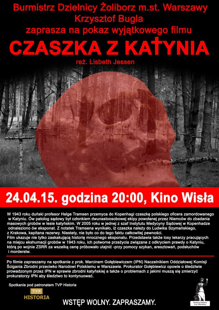 """Spotkania z historią  – """"Czaszka z Katynia""""B"""