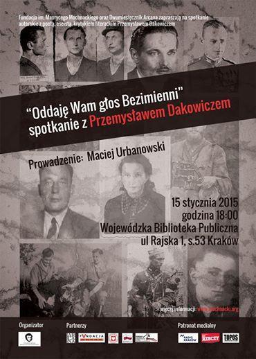 Spotkanie z Przemysławem Dakowiczem