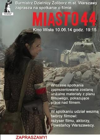 """Spotkania z historią – """"Miasto 44"""""""
