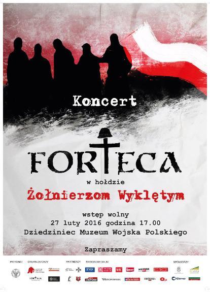"""Koncert zespołu """"Forteca"""" w Muzeum Wojska Polskiego"""