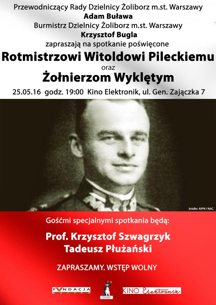 """Spotkania z historią  – """"Rotmistrz Witold Pilecki"""""""