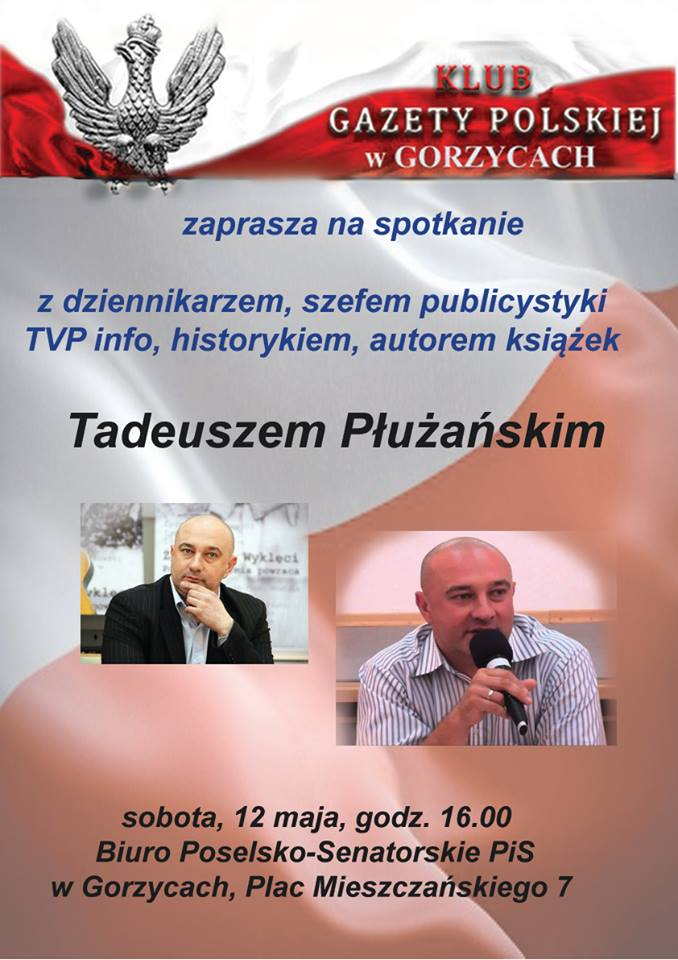 Tadeusz Płużański w Gorzycach