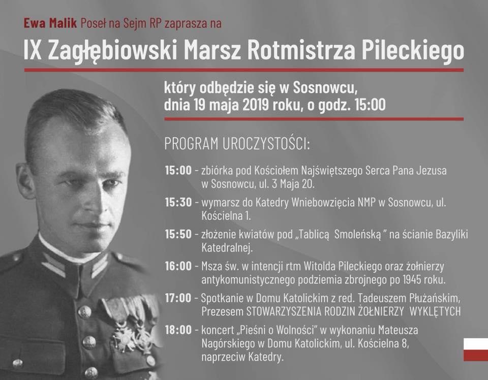 IX Zagłębiowski Marsz Rotmistrza Pileckiego